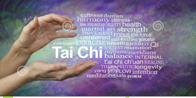 Tai chi every Tuesday at 3 with tai chi master Elijah Swain